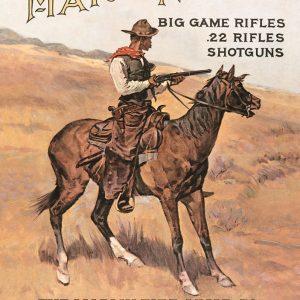 Marlin - The Marlin Fire Arms Co. (Cowboy On Horse)