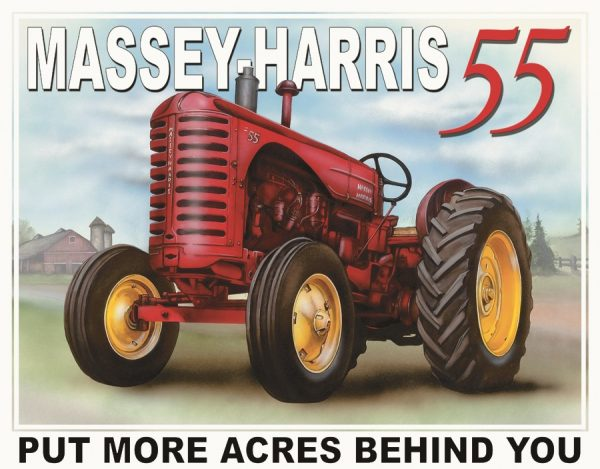 Massey Harris 55 (Tractor) Put More Acres Behind You