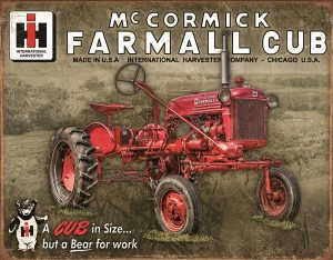 McCormick Farmall Cub (Tractor) - A Cub In Size…But A Bear For Work