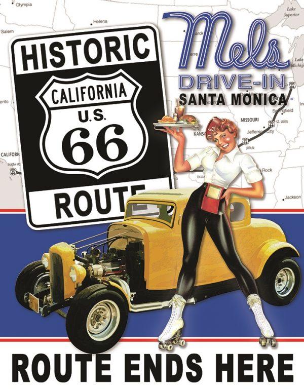 Mel's Drive In Santa Monica Route 66