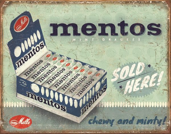 Mentos Sold Here - Chewy And Minty