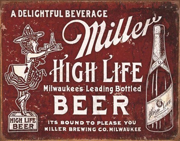 Miller High Life Beer - A Delightful Beverage