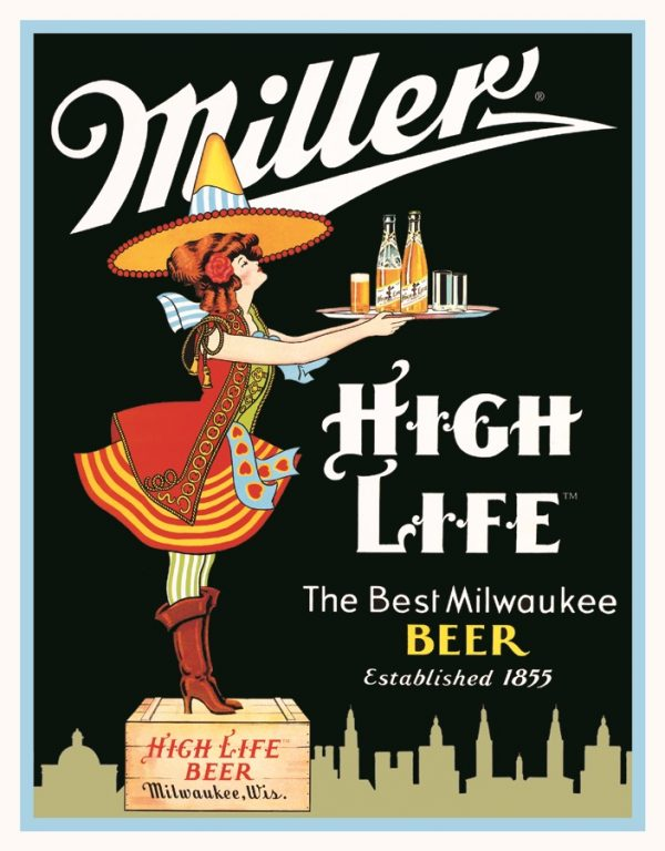 Miller High Life - The Best Milwaukee Beer (Server)