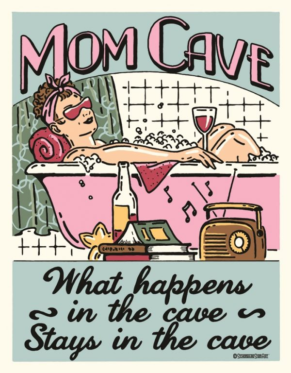 Mom Cave.. What Happens.. Stays In The…