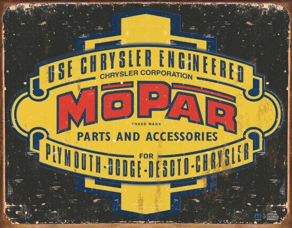 Mopar Use Chrysler Engineered Parts & Accessories