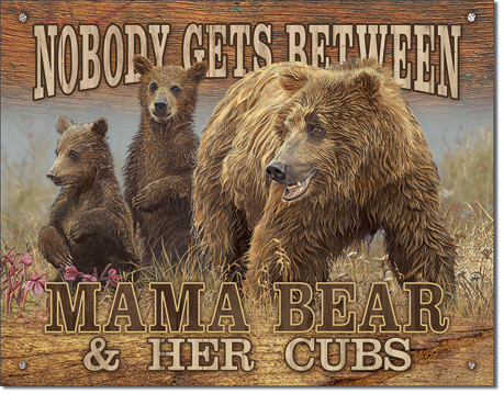 Nobody Gets Between Mamma Bear and Her Cubs