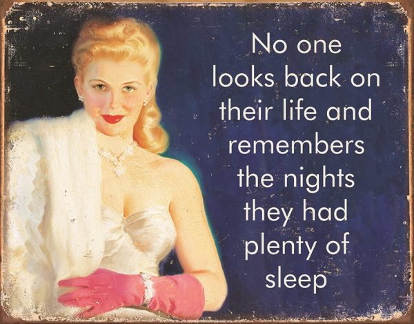 Nobody Looks Back On Their Life And Remembers