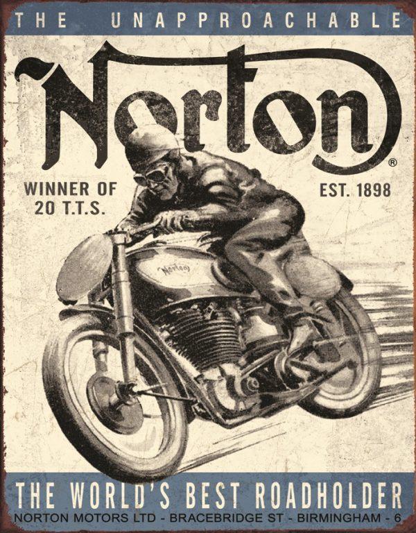 Norton - Winner of 20 T.T.S.- Est. 1898