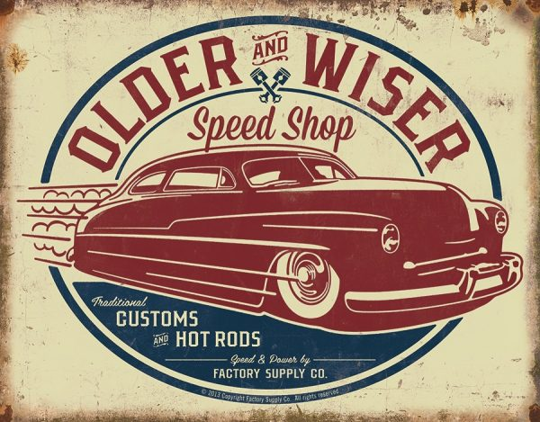 Older & Wiser Speed Shop
