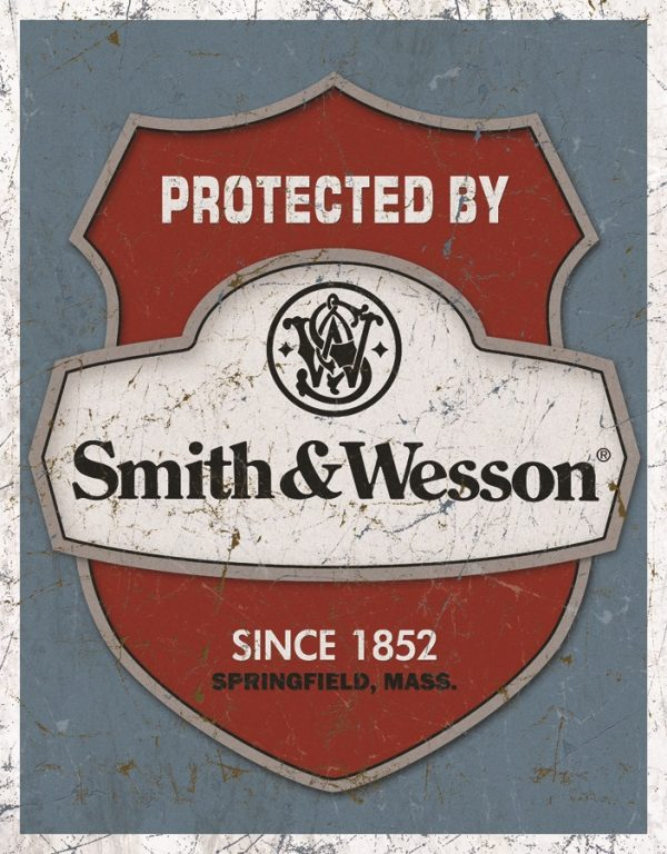 Protected By Smith & Wesson Since 1852