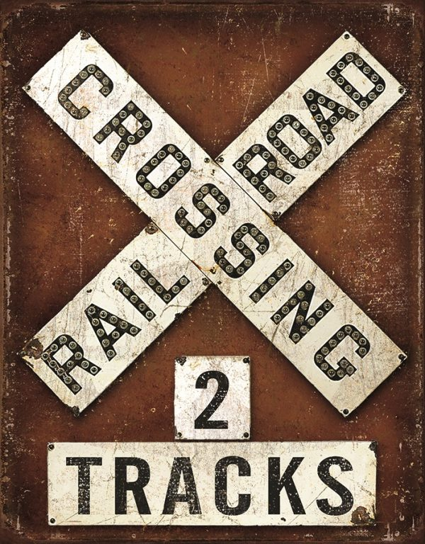 Railroad Crossing - 2 Tracks