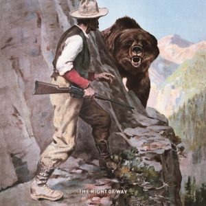 Remington - Right Of Way (Man On Ledge With Bear)