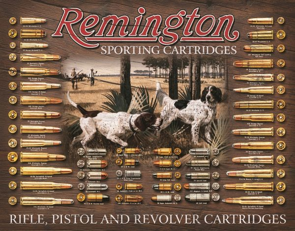 Remington Sporting Cartridges - Rifle, Pistol And Revolver