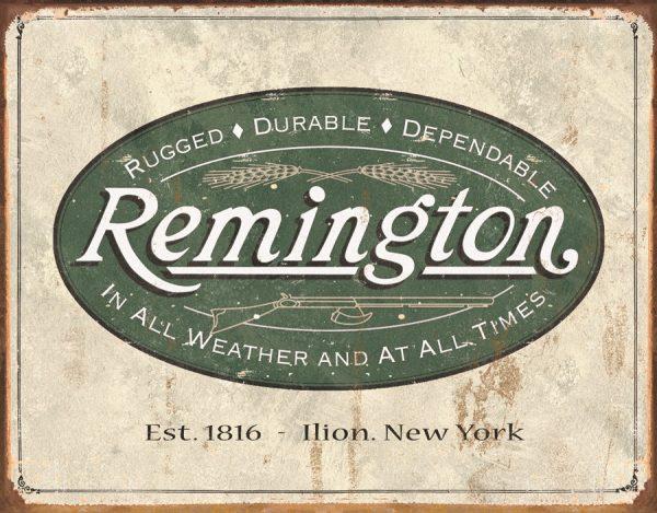 Remington (Weathered Logo)