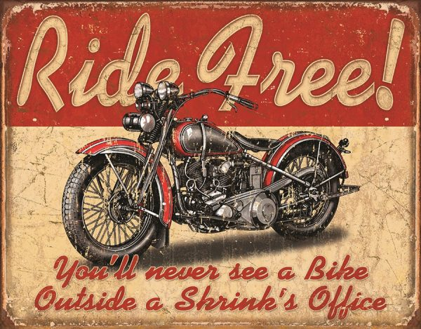 Ride Free You'll Never See A Bike Outside A Shrink's Office