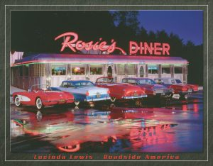 Rosie's Diner (5-Cars Outside Diner)