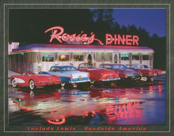 Rosie's Diner (5-Cars Outside Diner)
