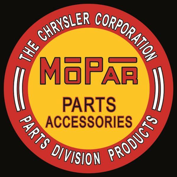 Round Mopar Parts Accessories