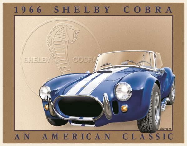 Shelby Cobra -1966 An American Classic