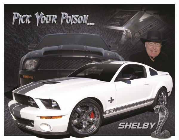 Shelby Mustang - Pick Your Poison