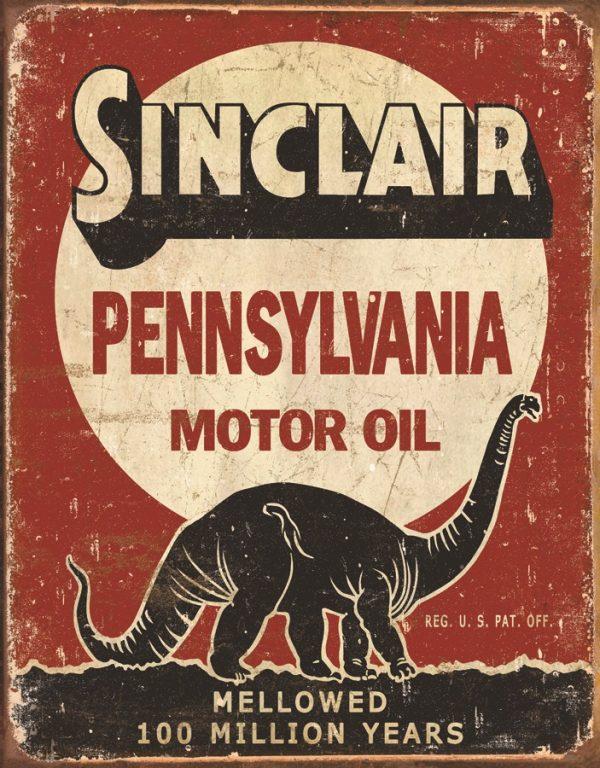 Sinclair Pennsylvania 100 Million Years