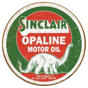 Sinclaire Opaline Motor Oil (Round)