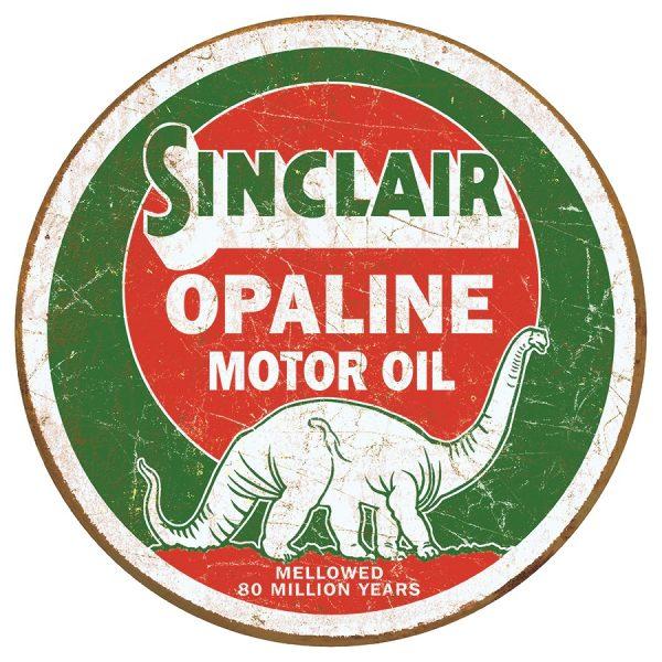 Sinclaire Opaline Motor Oil (Round)