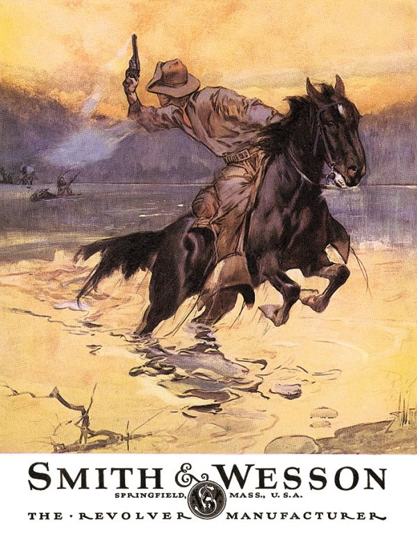 Smith & Wesson - Hostiles (Man on Horse Shooting)