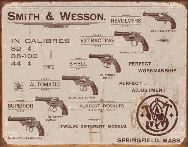 Smith & Wesson In Calibers