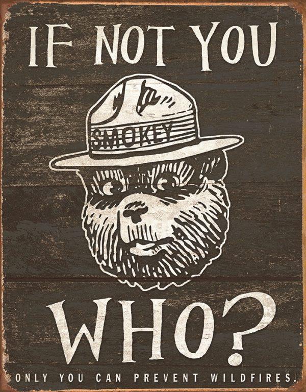 Smokey Bear - If Not You Who?