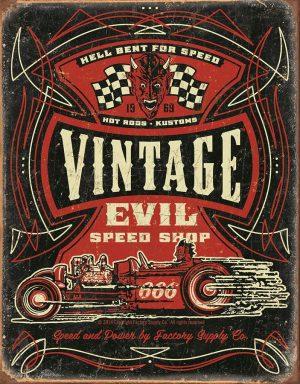 Speed Demon Vintage Evil Speed Shop
