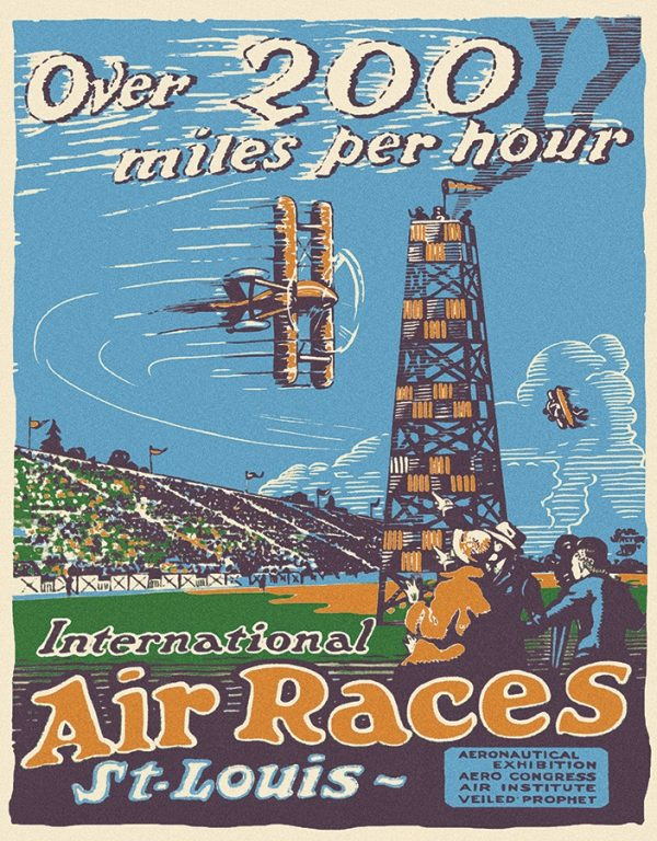 St. Louis Air Races - Over 200 Miles Per Hour
