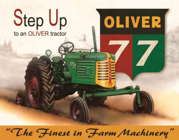 Step Up To An Oliver Tractor - Oliver 77