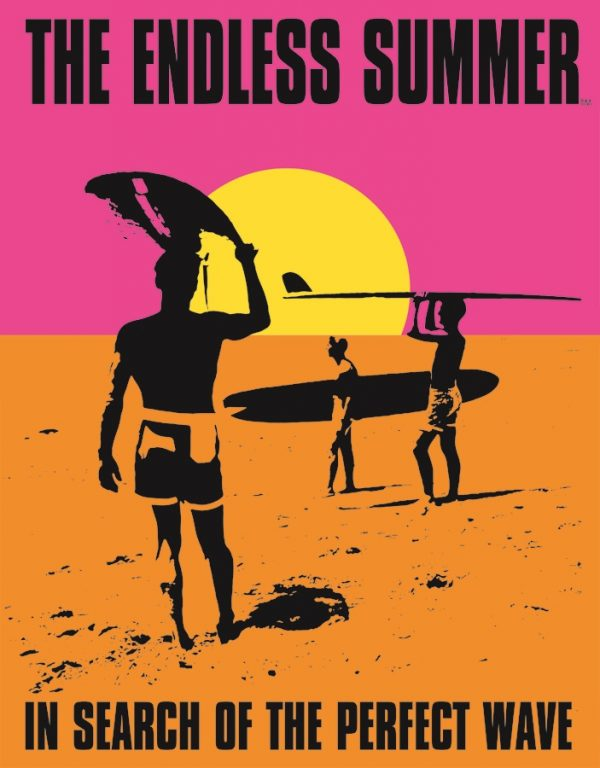 Surfing - Endless Summer Poster - In Search Of The Perfect Wave