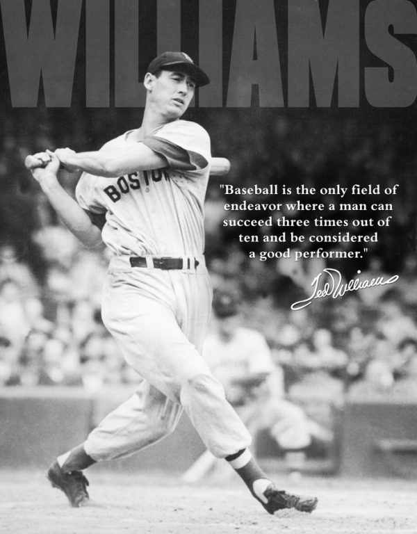 Ted Williams - Baseball Is The Only Field of