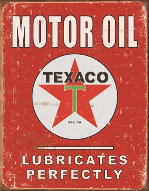 Texaco Motor Oil Lubricates Perfectly