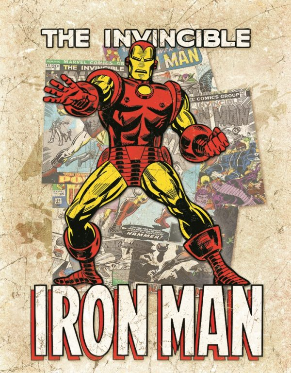 The Invincible Ironman (Cover Splash)