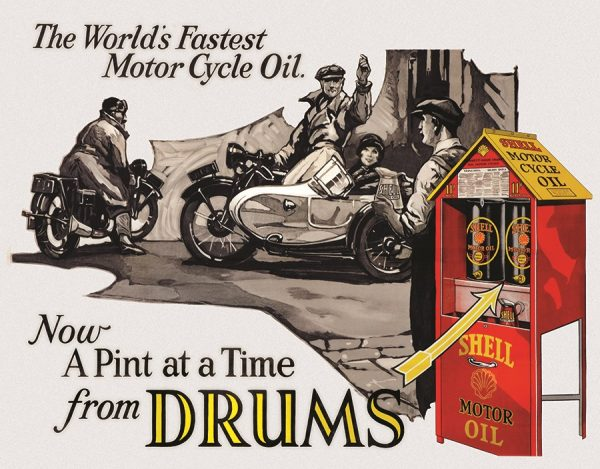 The World's Fastest Motor Cycle Oil