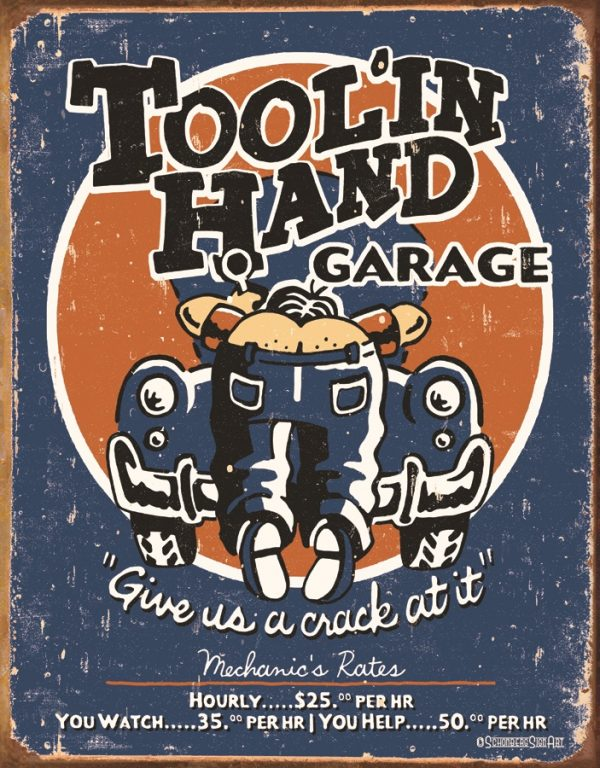 Tool 'in Hand Garage - Give Us A Crack At It