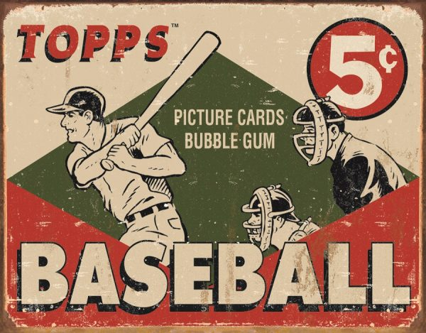 Topp's Baseball 5 Cents - Picture Cards Bubble Gum