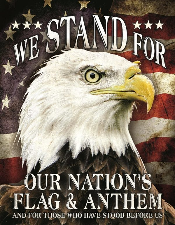 We Stand For Our Nations Flag An Anthem