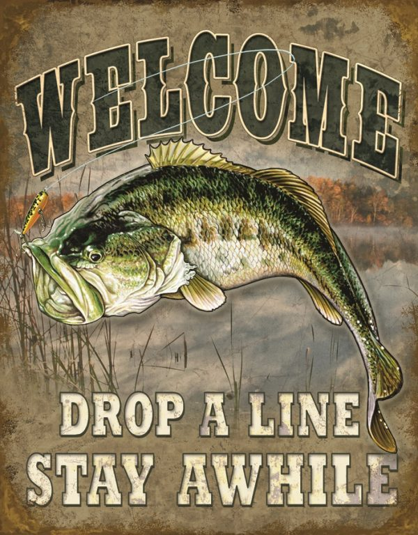 Welcome - Drop A Line Stay Awhile