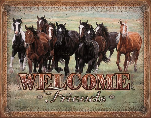 Welcome Friends (Horses)