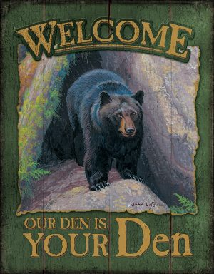 Welcome - Our Den is Your Den