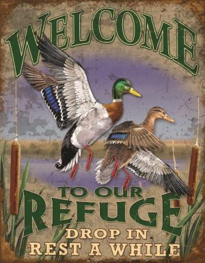 Welcome To Our Refuge Drop In Rest Awhile