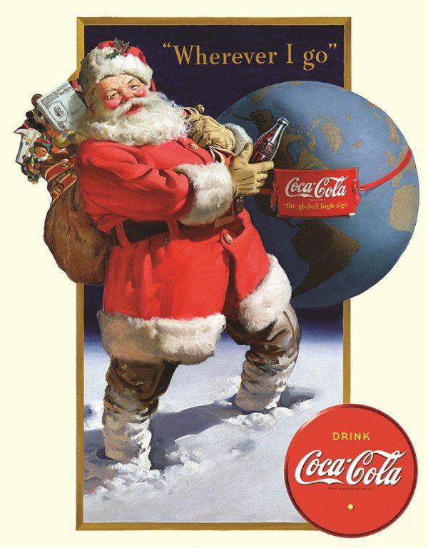 Where Ever I Go Drink Coke (With Santa)