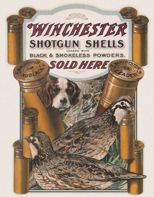 Winchester - Shotgun Shells Sold Here (Dog & Quail)