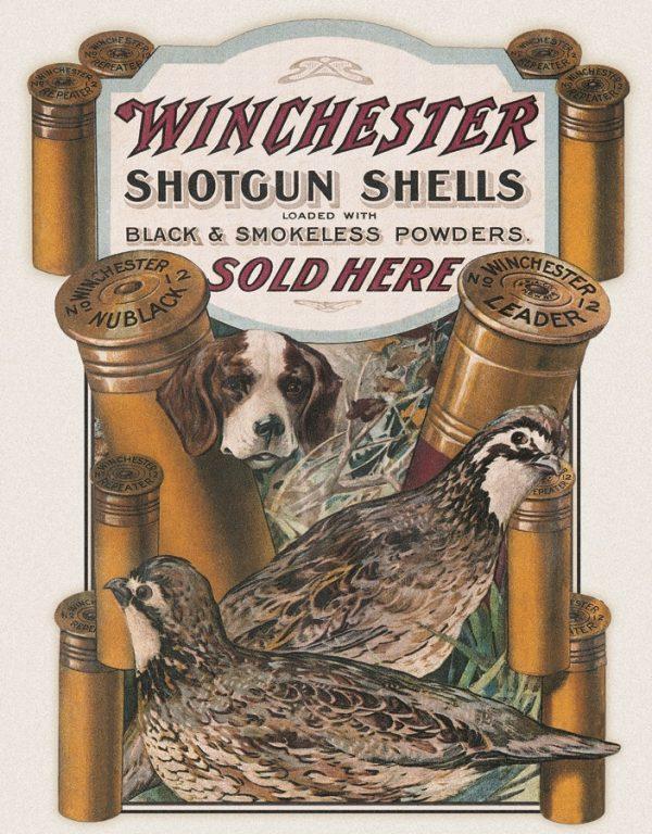 Winchester - Shotgun Shells Sold Here (Dog & Quail)