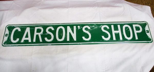 Carson's Shop