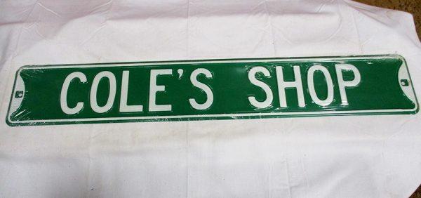 Cole's Shop